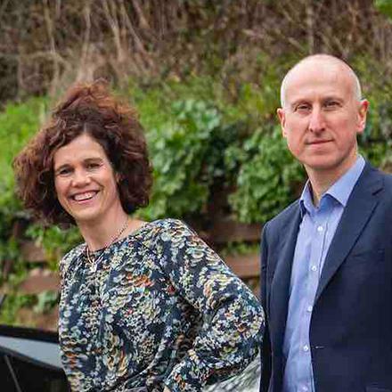 Melanie Shufflebotham and Dr Ben Lane